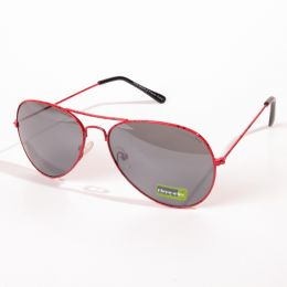 Street style red frames Sunglasses UV