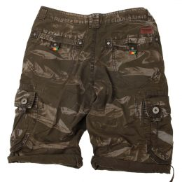Irie Lion Rasta shorts | Forest camo