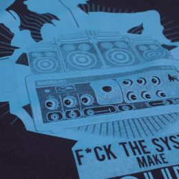 Fuck the System Make Sound System t-shirt