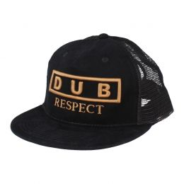 Dub Respect snapback cap | Black
