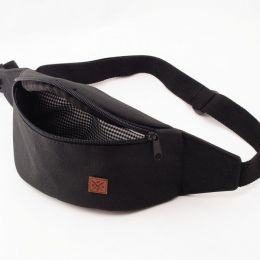 Nuff Wear bum bag / black