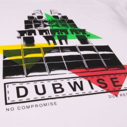 Dub Wise No Compromise | white t shirt