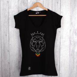 Rasta Courage Ladies tshirt