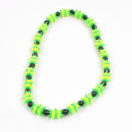 Jamaican colours glow in the dark Necklace