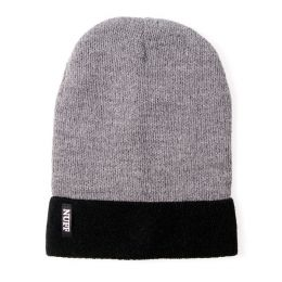 Beanie hat Nuff wear - gray & black
