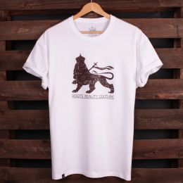 Roots Reality Culture Lion of Judah tshirt | white