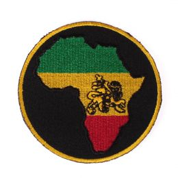 Africa & Lion patch