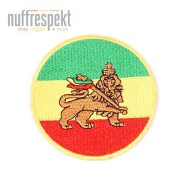 Lion of Judah rasta patch