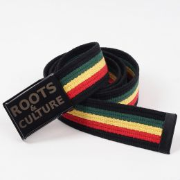 Roots & Culture cotton rasta belt