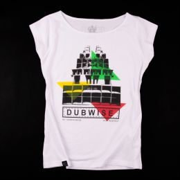 Dub Wise No Compromise ladies tee | white