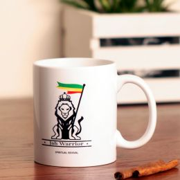 Jah Warrior Coffee Mug or Tea Cup 330 ml