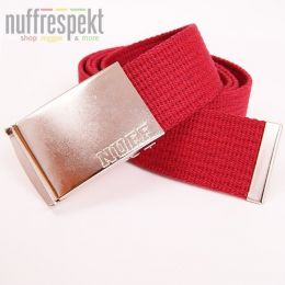 Nuff Wear belt - P0713 - crimson