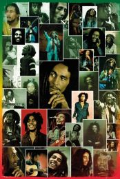 Plakat Bob Marley - Collage - LP1977