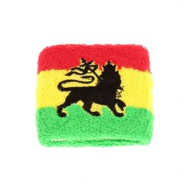 Rasta Lion of Judah wrist band