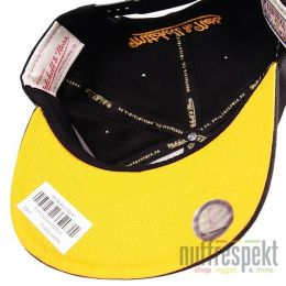 Mitchell & Ness Snapback cap Blacked Out Script - Los Angeles Lakers