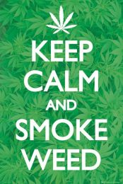 Plakat Keep Calm and Smoke Weed - GN0716