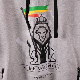 Bluza z kapturem Jah Warrior