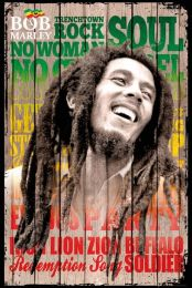 Bob Marley poster - Songs - LP1696
