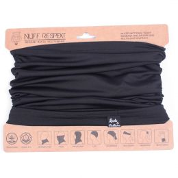 Multifunctional scarf Neck Tube  | Black - Roots & Culture