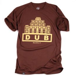 Dub Respect tshirt | brown