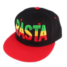 RASTA snapback cap  | Black & Red