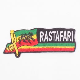 Rastafari flag patch