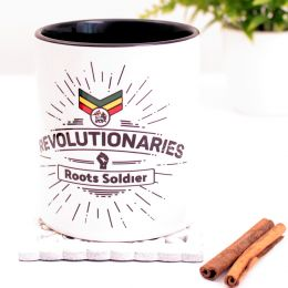 Revolutionaries Roots Soldier Coffee Mug or Tea Cup 330 ml