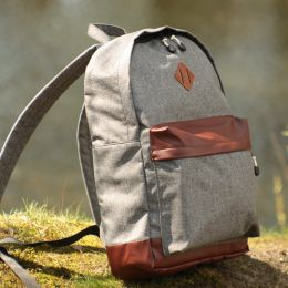 Backpack Nuff 4you 20L | Gray & brown