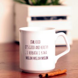 Roots / Ital Coffee Mug or Tea Cup 270 ml