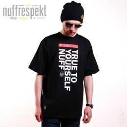 True To Yourself tshirt męski - Nuff Wear 0813 - black