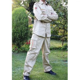 Rastafari Army suit | Jacket and Trouser