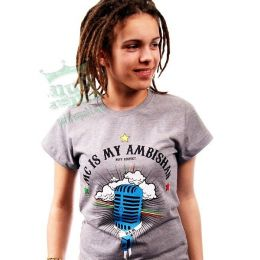 Mc Is My Ambishan - Bam Bam /reggae riddims/ Ladies tshirt
