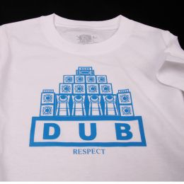 Baby tshirt | Dub Respect -white