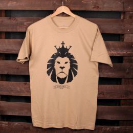 Tshirt Strictly Roots | Dub Lion beż [SAMPLE SALE]