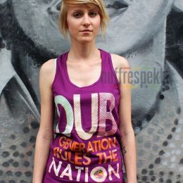 Tank Top - Dub Generation Rules The Nation - Nuff Respekt