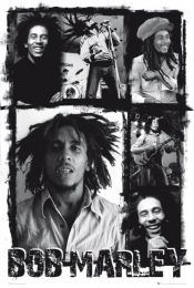 Plakat Bob Marley - Photo collage - LP1258