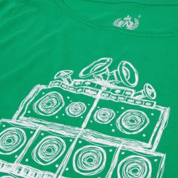 Vinyl & Sound System wall Maniac Ladies tshirt