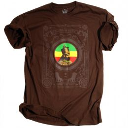 Jah son of Africa / Rasta Got Soul - Brown tshirt