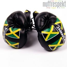 Plain boxing glove - Jamaican flag
