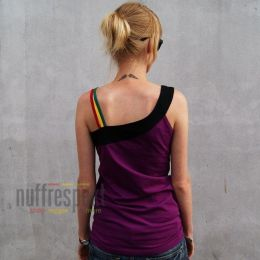 Tank Top Warm Days Rasta Inset - Nuff Respekt