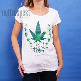 Boom Draw - Healing of the nations -  Irie Lion ladies tee