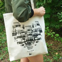Make Dub not War Tote Bag