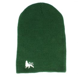 Beanie hat Lion of Judah | green