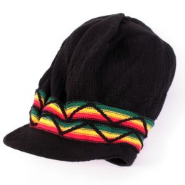 Irie Style Rasta Dread hat | Black and Rasta