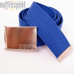 Pasek Nuff Wear - P0613 - royal blue