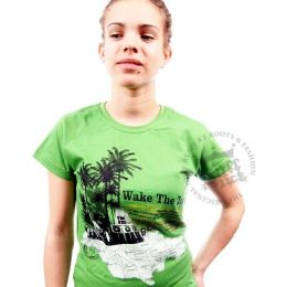 Wake The Town ladies tee - Nuff Respekt