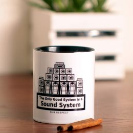 Kubek The Only good system is a sound system 330 ml