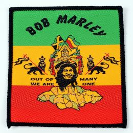 Naszywka Bob Marley /Out of many we are one