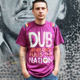 Dub Generation Rules The Nation tee - Nuff Respekt
