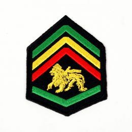 Lion of Judah patch - warrior style - Staff Sergeant